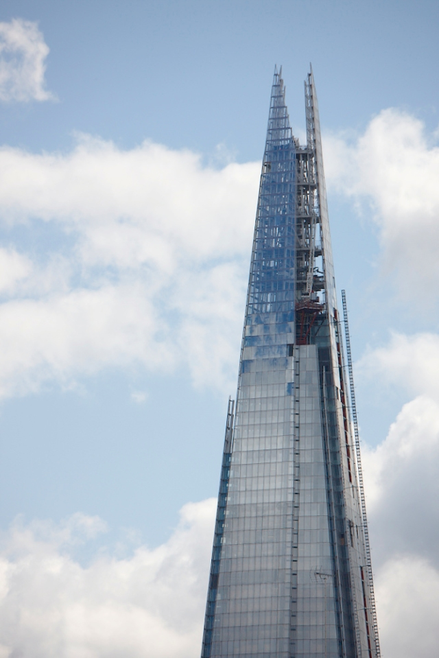 The Shard from Blackfriars Bridge