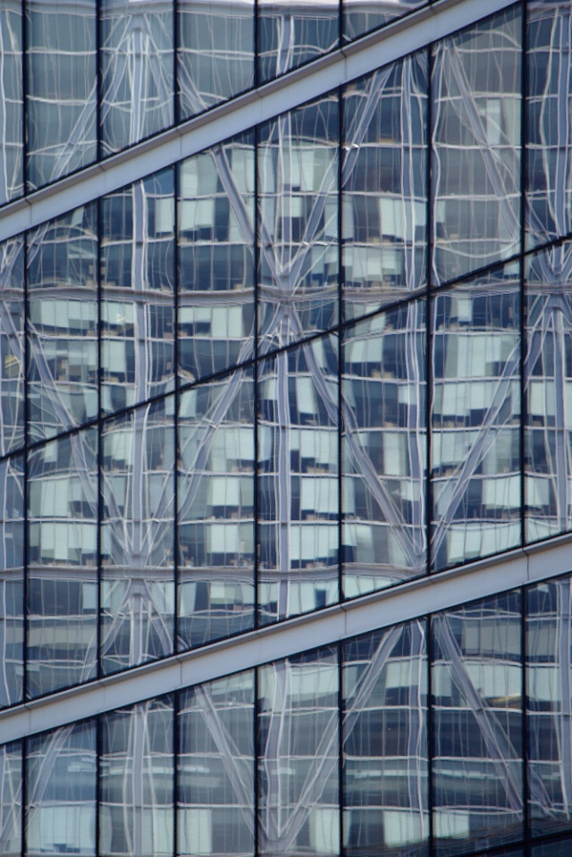 Broadgate reflection